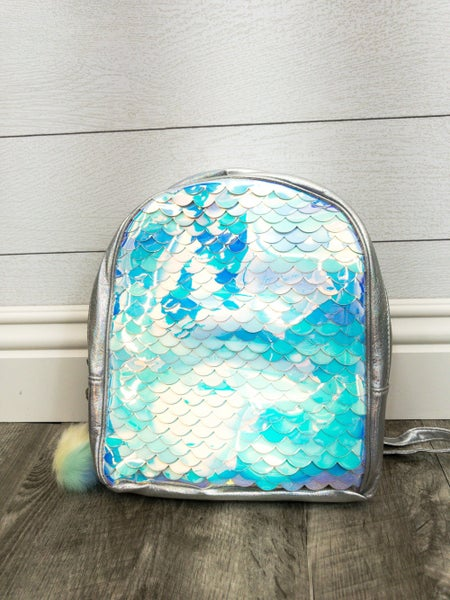 Full Front Chrome Wave Backpack