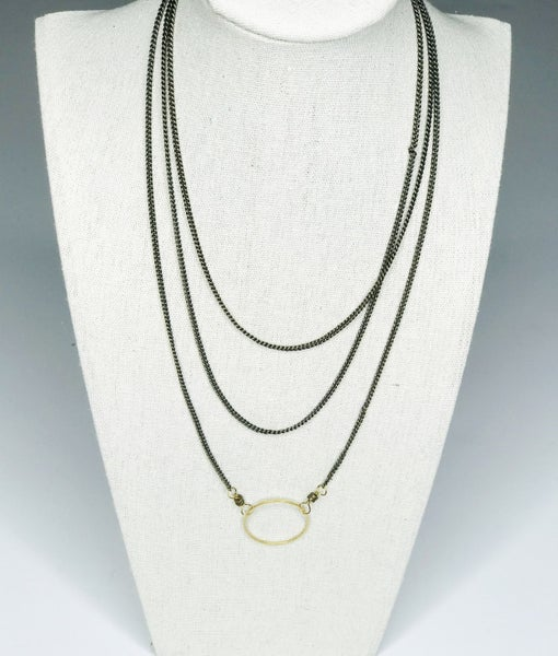 Stackable Circle Necklace