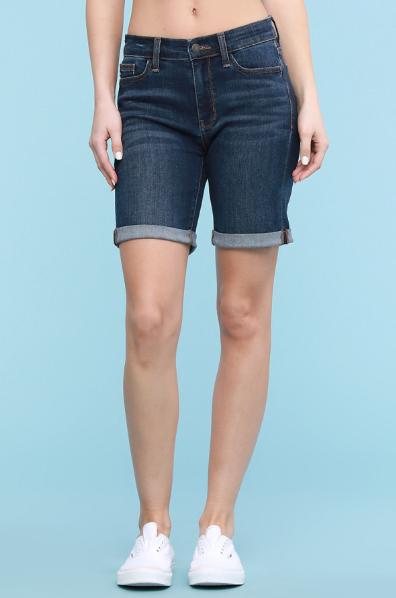 Judy Blue Cuffed Bermuda Shorts