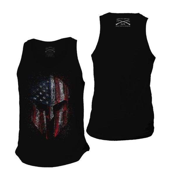 "Grunt Style ""AMERICAN SPARTAN"" Men's Tank"