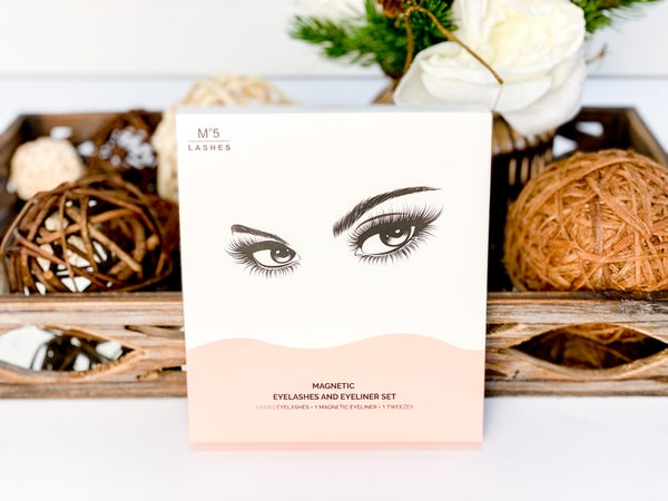 M5 Beauty Magnetic Eyelash + Eyeliner Kit