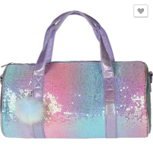 Sequin Duffel Bag