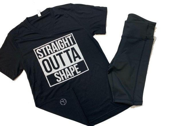 Straight Outta Shape V-Neck