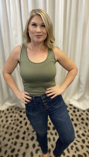 Patch Pocket Skinny Judy Blue Jeans