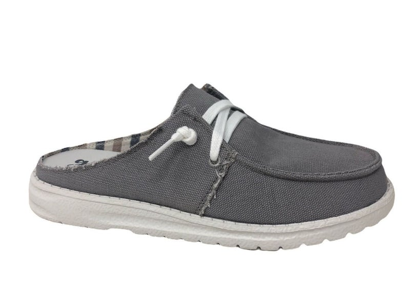 Layla Slip On Shoes (Gray)
