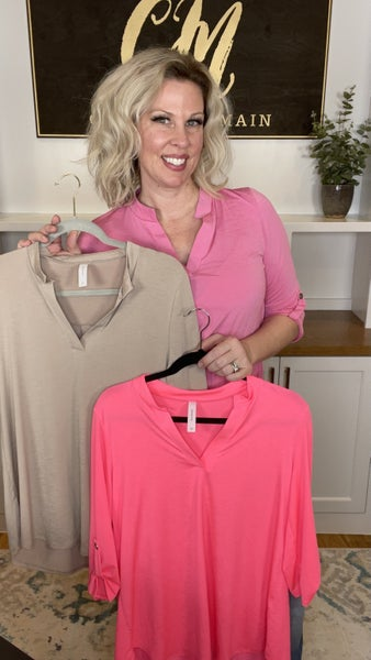 Gabby Solid Blouse