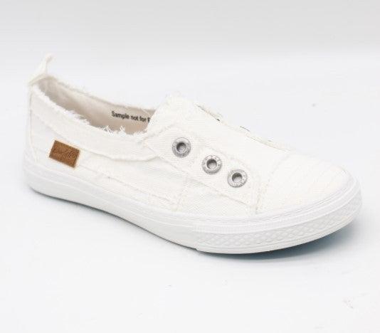 Blowfish Aussie Slip on Sneakers - White Smoked