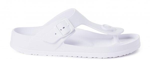 Jet Ski Slip on Sandal in White