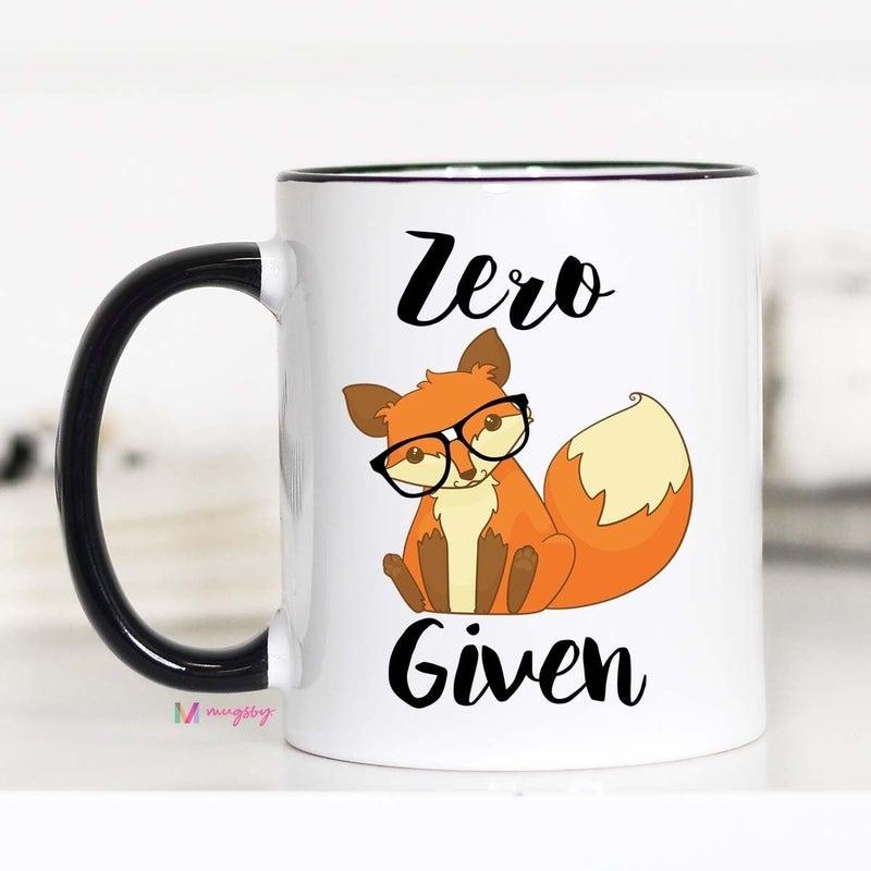 Zero Fox Given 15oz Mug