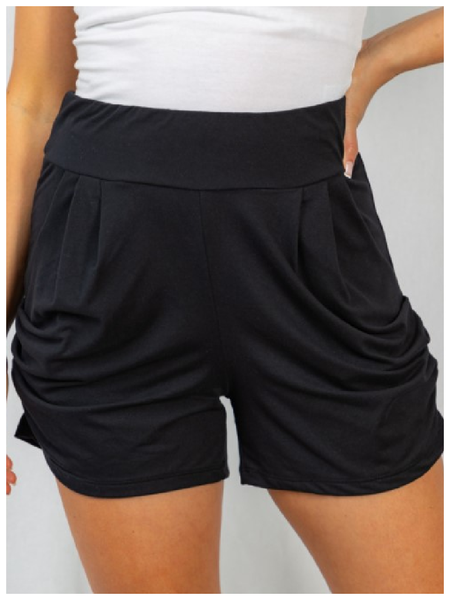 RESTOCK/ The Best Knit Harem Shorts - Black