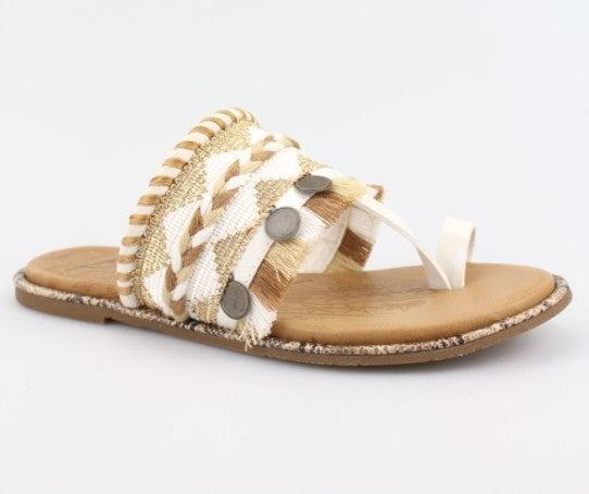 Blowfish Raelynn Sandals - White