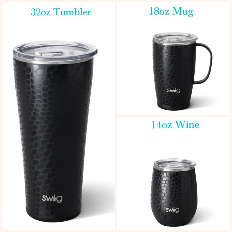 Dragon Glass Swig - 14oz Wine Glass, 18oz Mug, or 22oz Tumbler