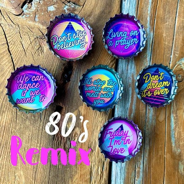 80's Remix Magnet - Six Pack