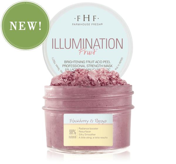 Illumination Fruit Professional Strength Brightening Fruit Acid Peel Mask