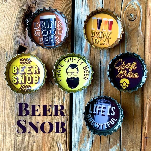 Beer Snob Magnet - Six Pack