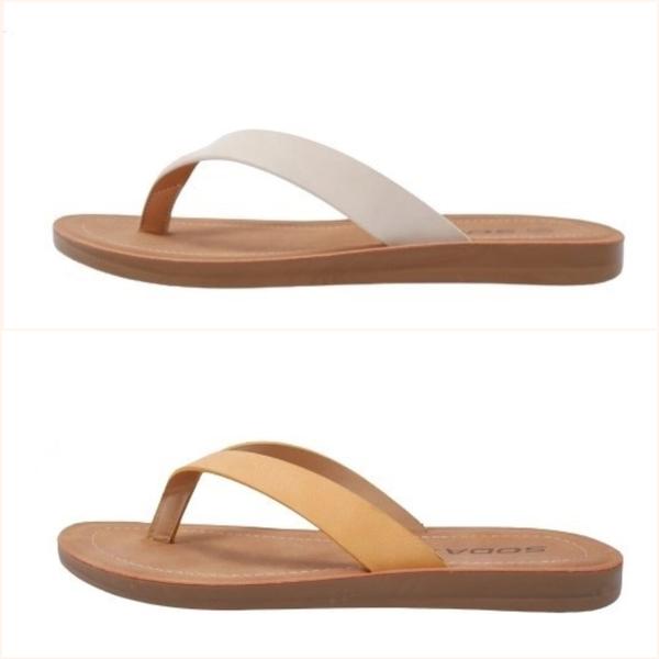 Ella Nubuck Flip Flop Sandal