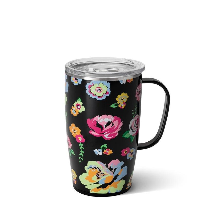 Fleur Noir - 14oz Wine, 18oz Mug, 32oz Tumbler