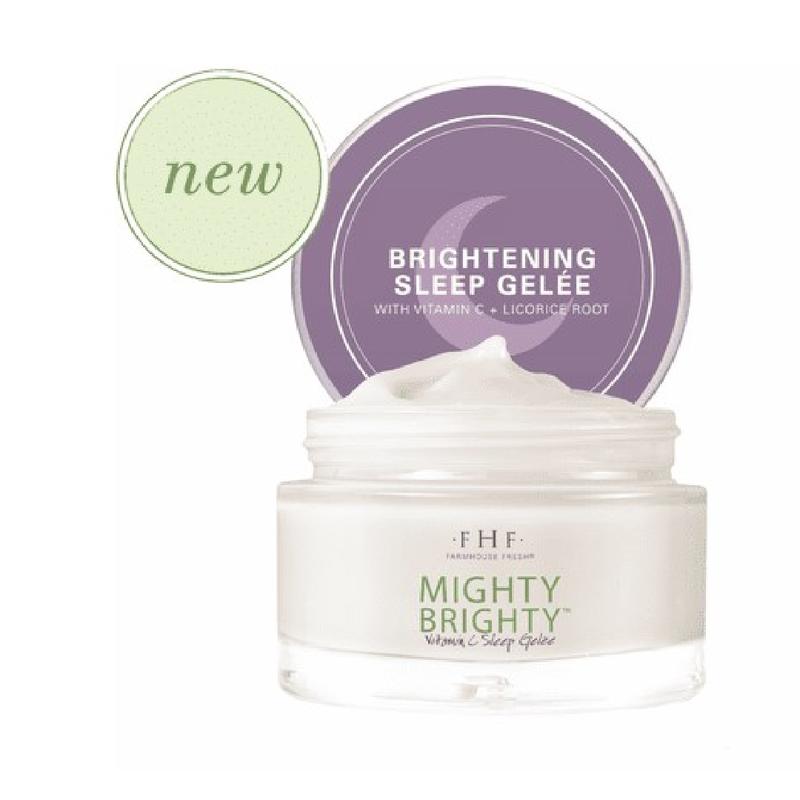 NEW!! Mighty Brighty™ Vitamin C + Licorice Root Brightening Sleep Gelée