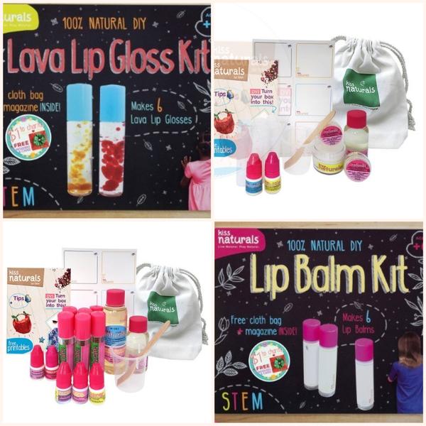 DIY Kids Lip Balm Craft Kit