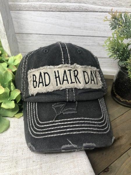 Bad Hair Day Vintage Ballcap