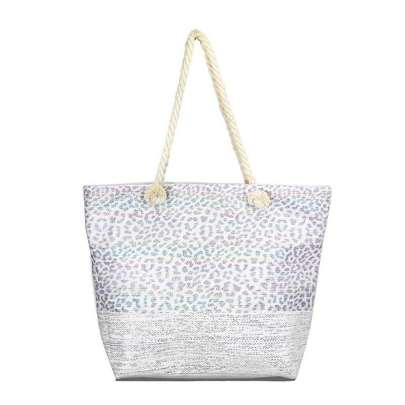 Patterned Print Beach Bags