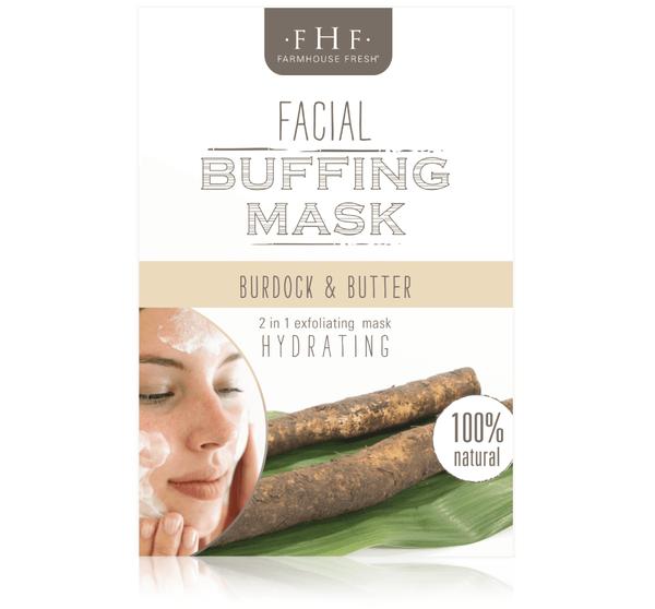 Burdock & Butter Facial Buffing Mask
