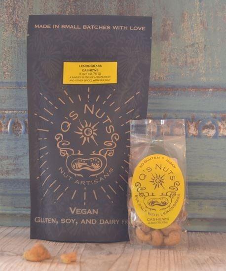 Keto! Seasoned Cashew Nuts - 5 oz.