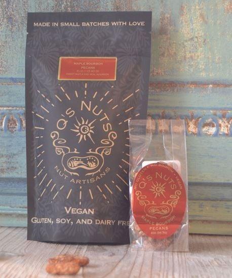 Maple Bourbon Pecans - 4 oz.