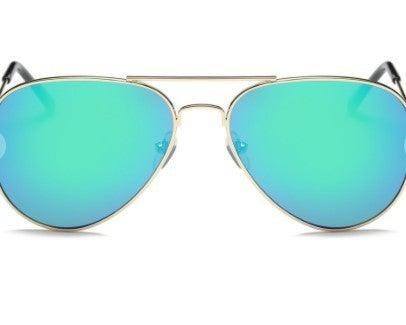 Classic Mirrored Aviator Fashion Sunglasses