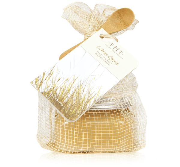 Citrus Grass Fine Sea Salt Body Polish