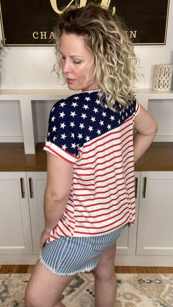 Land of the Free Casual Tee