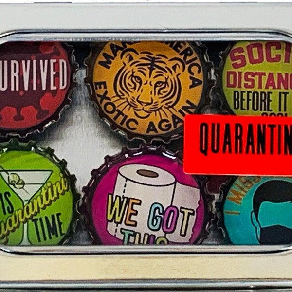 Quarantine Magnet - Six Pack