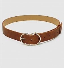 Pulled Together Leather Belt