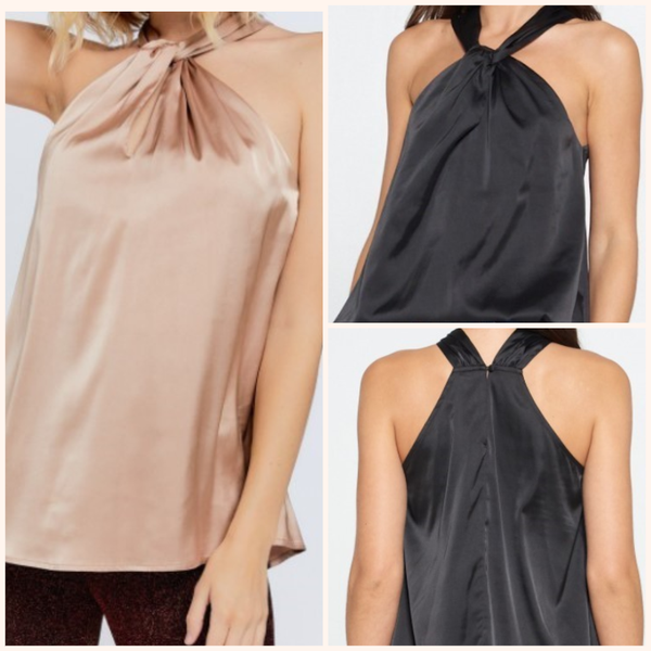 Celebration Halter Neck Top