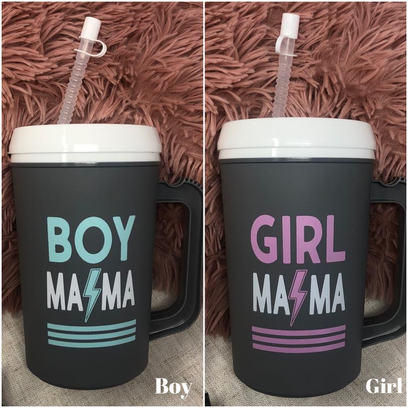 Girl/Boy Mama Lightning Bolt Jug