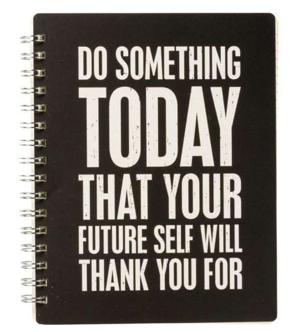 Spiral Notebook Journal- Future Self