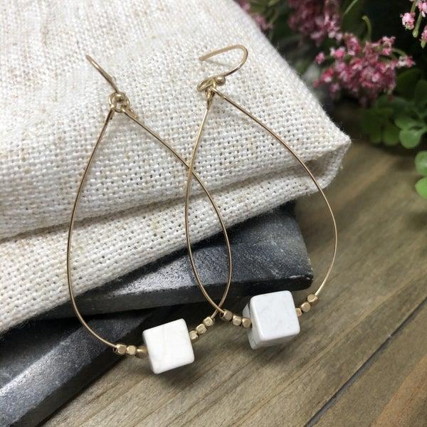 Semi Precious Earrings