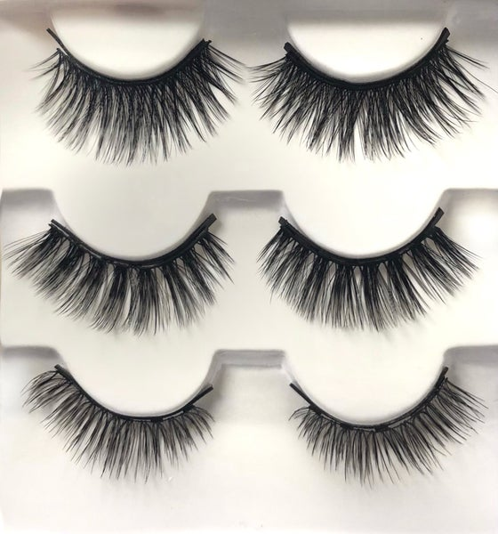 Vogue Magnetic Lashes -  Pack of 3