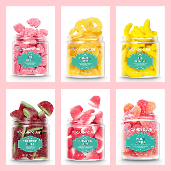 Candy Club Sweet & Sour Sugared Gummies
