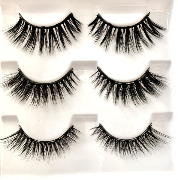 Glam Magnetic Lashes -  Pack of 3