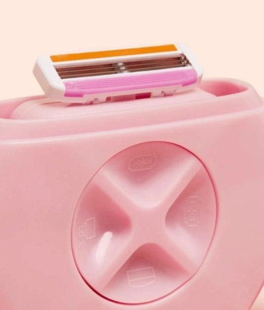 All-in-One Razor For Shower-Free Shaving
