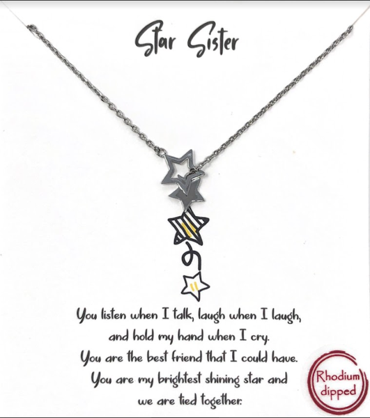 Star Sister Necklace