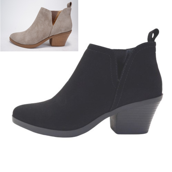 Armory Nubuck Ankle Boots