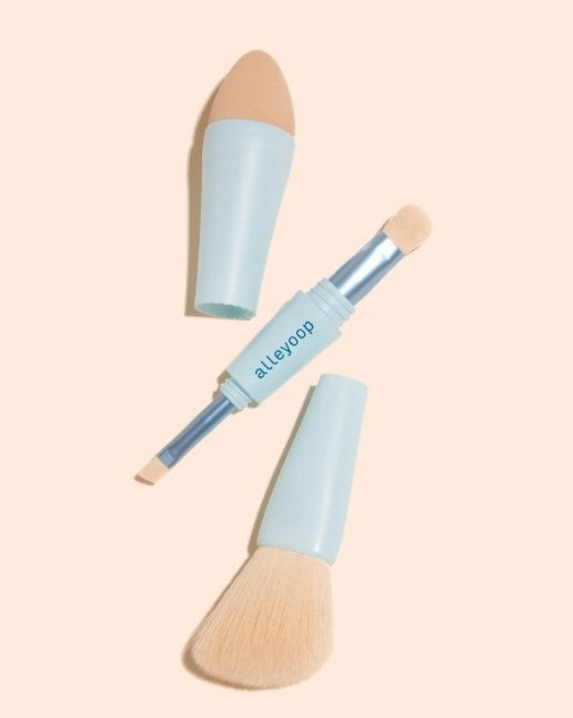 Multi-Tasker -- 4-in-1 Makeup Brush