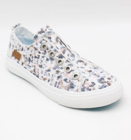 Blowfish Play Slip on Sneaker - Rainforest Leopard