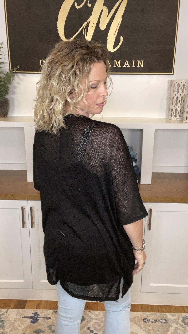 Basic Perfection Short Sleeve Cardigan