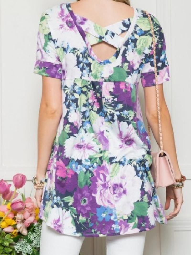 Fabulous Floral Top