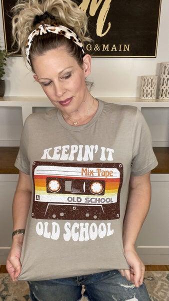 Keepin' It Old School Tee