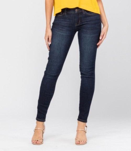 RESTOCK! Date Night Judy Blue Dark Wash Skinny Jeans