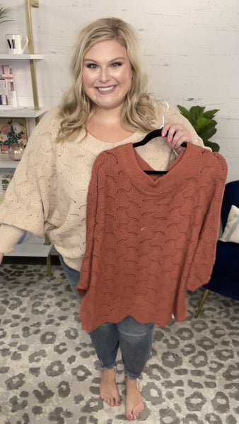 Double Date Knit Sweater